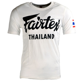 Fairtex Cotton T-Shirt White Thailand