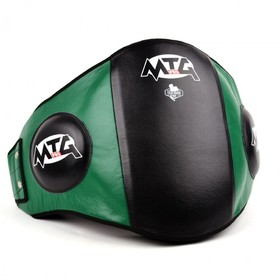 MTG Pro Black & Green Leather Belly Pad
