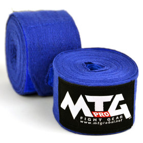 MTG Pro Cotton Handwraps / Blue - 5m