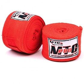 MTG Pro 5m Cotton Handwraps Red