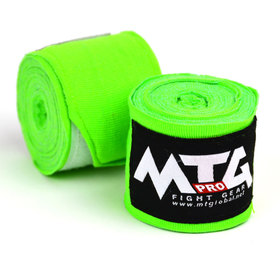 MTG Pro Hand Wraps / Lime Green - 5m