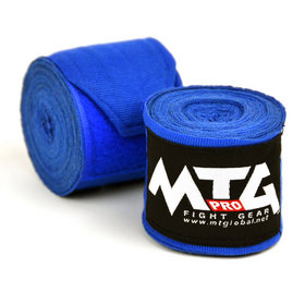 MTG Pro 5m Elasticated Hand Wraps Blue