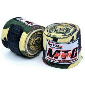 MTG Pro 5m Elasticated Hand Wraps Green Camo