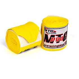 MTG Pro 2.5m Yellow Amatuer Hand Wraps