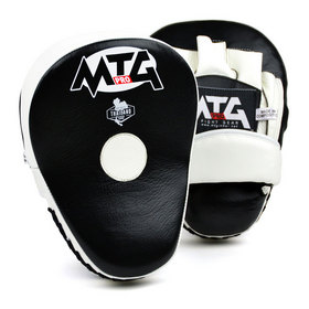 MTG Pro Curved Focus Mitts Black & White