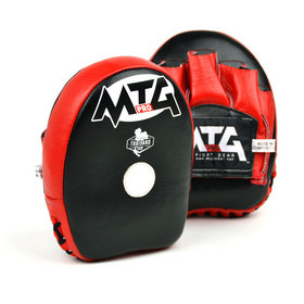 MTG Pro Mini Curved Focus Mitts Black & Red