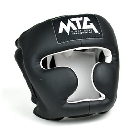 MTG Black Synthetic Sparring Headguard