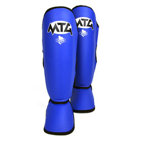 MTG Pro Synthetic Shin Pads Blue