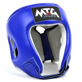 MTG Pro Open Face Headguard Blue