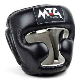 MTG Pro Full Face Head Guard Black