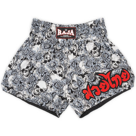 Raja Muay Thai Shorts / Skull Grey