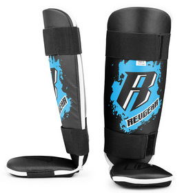 Revgear Kids Muay Thai Shin Pads Black & Blue