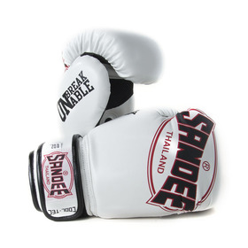 Sandee Cool-Tec Kids Boxing Gloves White