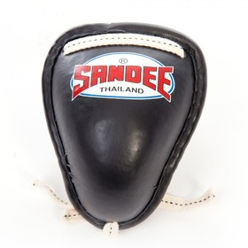 Sandee Metal Groin Guard Black