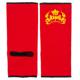Top King Ankle Supports Red & Black