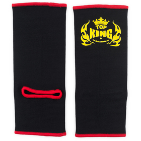 Top King Ankle Supports Black & Red