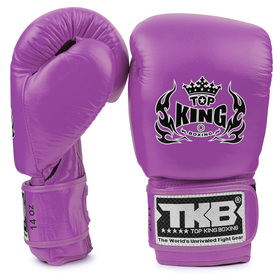 Top King Boxing Gloves / Double Lock / Purple