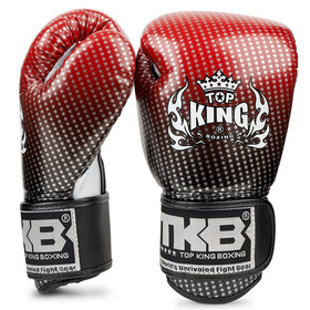 Top King Kids Boxing Gloves / Super Star / Red Black