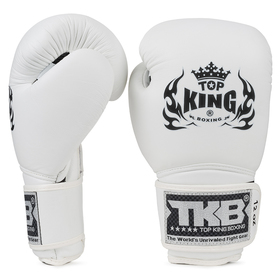 Top King Boxing Gloves / Super Air / White