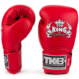 Top King Boxing Gloves / Super Air / Red