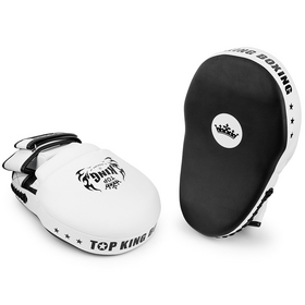 Top King Extreme Focus Mitts Black & White