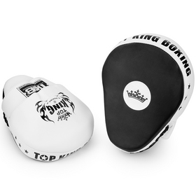 Top King Super Focus Mitts Black & White