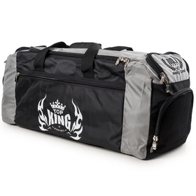 TOP KING Gym Bag Black & Grey