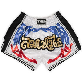 Top King Shorts / Retro / White Blue Red