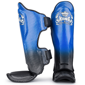 Top King Super Star Shin Pads Blue