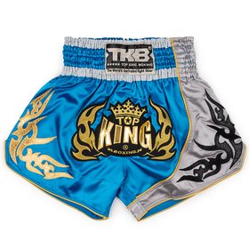Top King Muay Thai Shorts Sky Blue