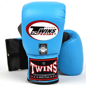 Twins Air Flow Bag Gloves Sky Blue & Grey