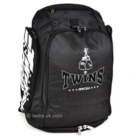 Twins Black Convertible Rucksack