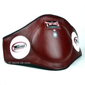 Twins Burgundy Leather Belly Pad
