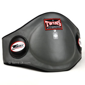 Twins Grey Leather Belly Pad