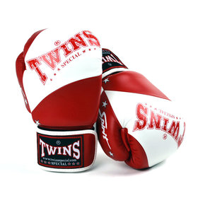Twins White-Red Spirit Boxing Gloves