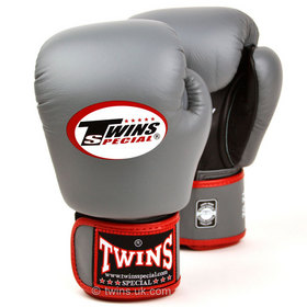 Twins Air Flow Grey-Black Boxing Glove