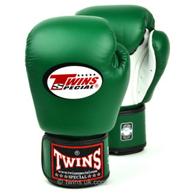 Twins Air Flow Dark Green-White Boxing Gloves