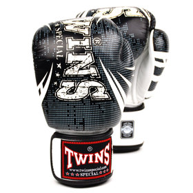 Twins Black-White Boxing Gloves