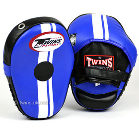 Twins Classic Leather Focus Mitts Blue