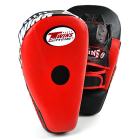 Twins Focus Mitts / Long / Red Black