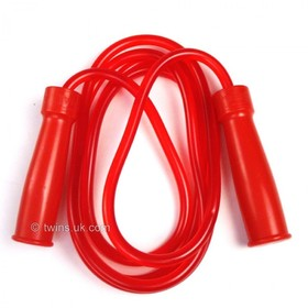 Twins Heavy Rubber Bearing Skipping Rope Red