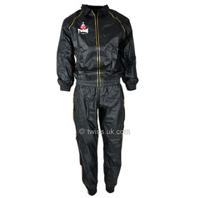 Twins Vinyl Sweat Suit / Black