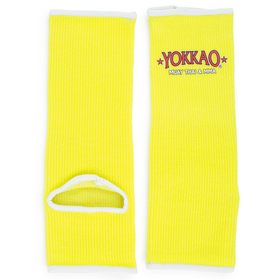 Yokkao Kids Neon Yellow Ankle Supports