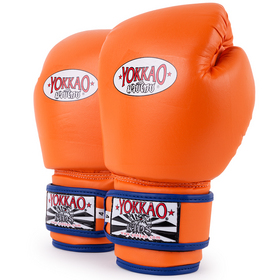 Yokkao Kids Air 2.0 Velcro Boxing Gloves Orange