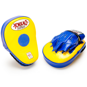 Yokkao Focus Mitts Yellow & Blue