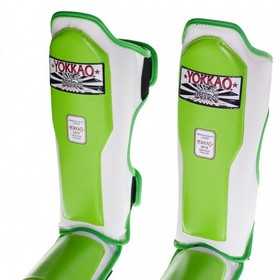 Yokkao Kids Green Air 2.0 Shin Pads