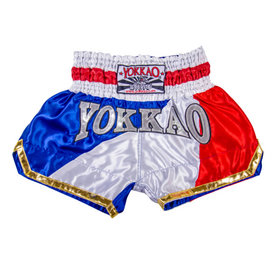 Yokkao Satin Muay Thai Shorts Thai Flag
