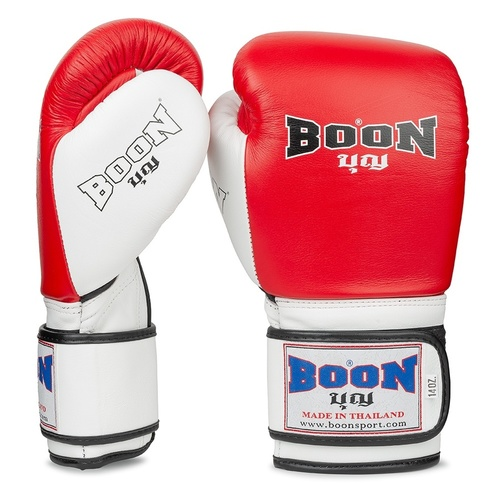 Boon Sport Boxing Gloves / Compact / Red White
