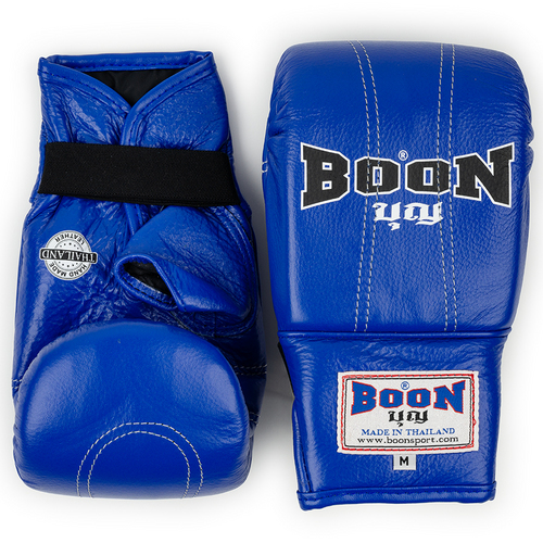 Boon Blue Leather Bag Gloves