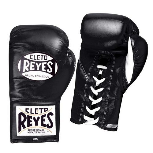 Cleto Reyes Contest Laced Boxing Gloves Black